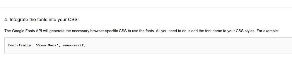 google-font-css