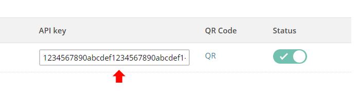 Get your MailChimp API key