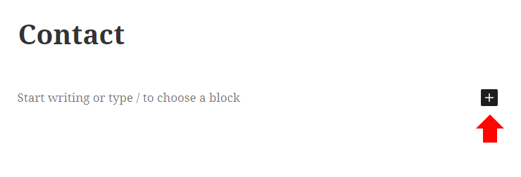Click to add a block